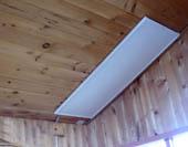 Инфракрасный обогреватель можно без опасения устанавливать на даче